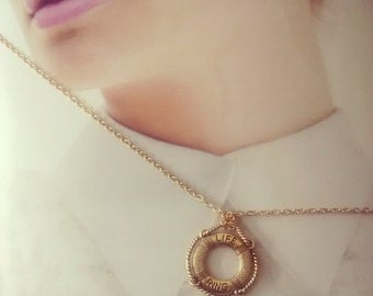 Life Ring Necklace