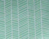 True Colors Herringbone in Turquoise by Joel Dewberry for Free Spirit Fabrics