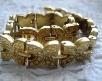 SALE Vintage Gold Bracelet UK / Mothers Day Gift