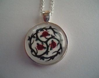 BDSM Rose Symbol Necklace