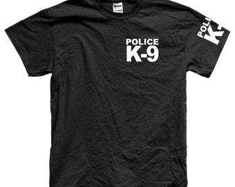 POLICE K-9 UNIT t-shirt tee shirt short or long sleeve your choice! all sizes