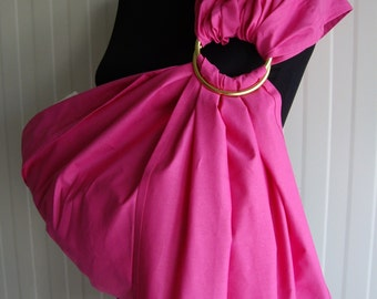 SALE! Pink ring sling,Baby Sling Ring ,Baby Carrier, Sling,Baby Wrap, Baby Sling,Baby Gift,Sling SALE!!