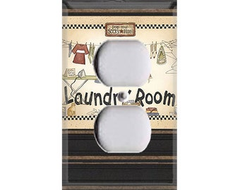 Laundry Room Style 1 Outlet Cover