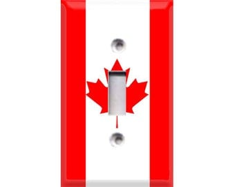 Canada Light Switch Cover