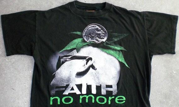 Vintage FAITH NO MORE Shirt Tour 93 Melvins Metal Rock Band  Concert Fantomas Slayer Mr Bungle