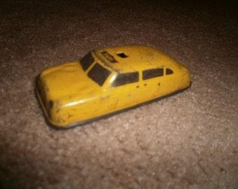 Vintage Argo Tin Toy Taxi Cab, 1940's