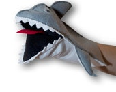 Hand Puppet for Children Scary Shark Puppet pet