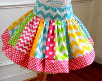 chevron skirt rainbow skirt candy chevron rainbow skirt girls skirt birthday chevron outfit chevron set chevron polk a dot polka dot skirt