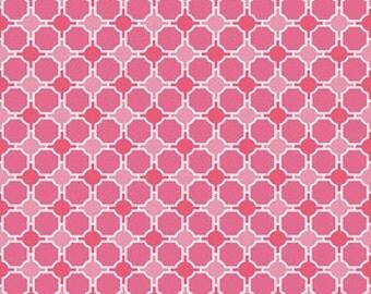 Half Yard - Splendor Geometric in Pink by Lila Tueller for Riley Blake - 1/2 yard