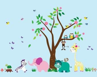 Tree WALL DECAL Reusable - N102