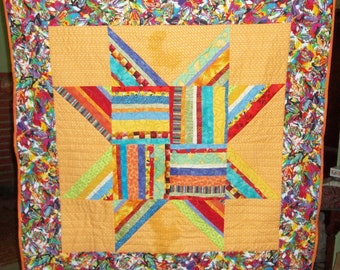 Bright Star Scrappy Quilt