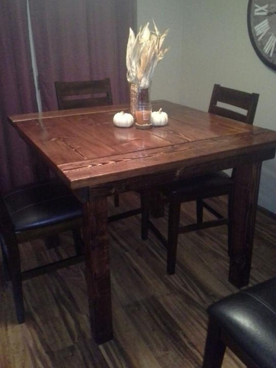 items similar to pub style kitchen table on etsy ForPub Style Kitchen Table