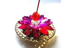 Incense holder, Incense stick holder, Incense Burner, medium size, Floating Incense Holder, agarbatti Stand housewarming return gift