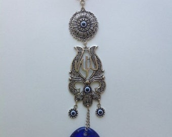 Evil Eye Charm Hanging Ornament for Protection