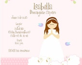 Baptism and Holy Communion  Invitations