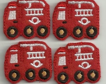 Firetruck Felties! Custom Made!