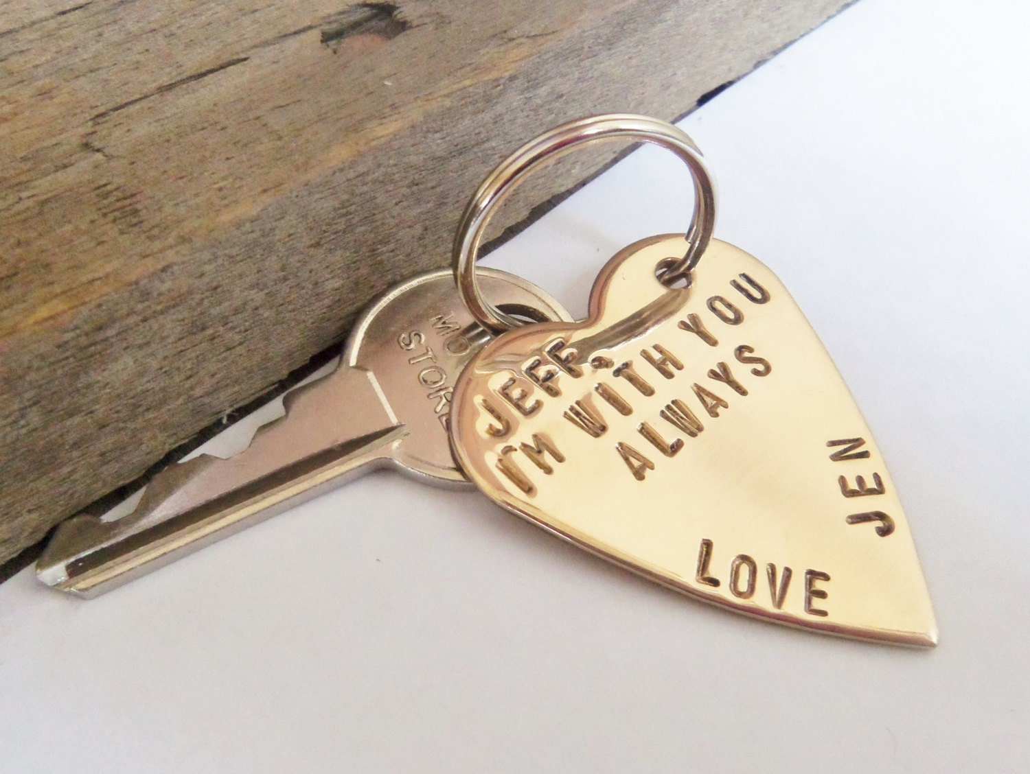 Personalized Keychain for Boyfriend Gift for Husband Key Chain