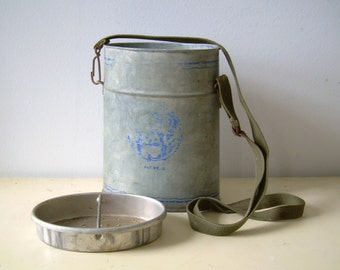 Vintage Galvanized Bait Bucket