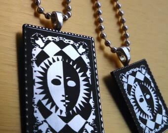 Persona Tarot Card Pendant