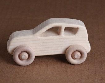 Handcrafted Mini wooden KIA Soul 206