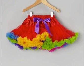 Rainbow Premium Petti Skirts for Baby to Big Girls!