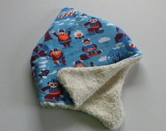 Winter Cap with vikings organic cotton