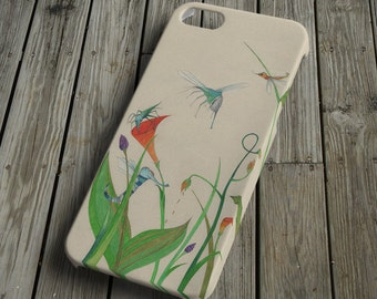 Insects - colorful - iPhone 5 Case - iPhone 5 Cover - Plastic iPhone 5 Case