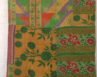 Authentic Vintage Indian Kantha