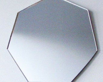 Heptagon Mirror - 5 Sizes Available