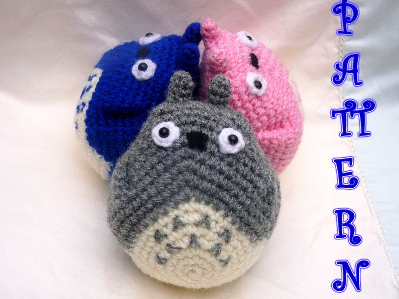 The power of Totoro Amigurumi crochet PATTERN by ...