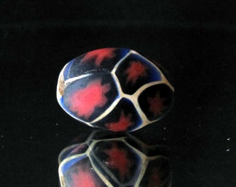 handmade colorful indonesian glass bead (08)