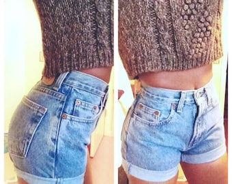 High waisted shorts | Etsy