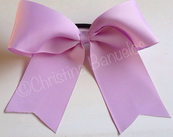 Solid Lavender Cheer Bow - #182701786