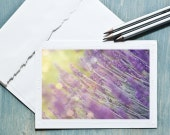 Lavender Blank Photo Notecard, Instant download, Printable art, Printable Greeting Card, 4x6, Photography Card, Art Print, Purple, Lavender