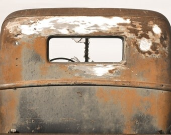 Ford Truck Photography, Ford farm truck, vintage Ford, truck cab, truck window, rusty, color, Rustic Home Decor, Rustic Art, Gifts for Men