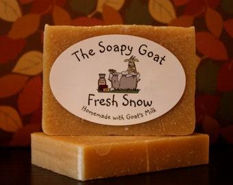 Goat's Milk Soap 3 oz. -- Fresh Snow
