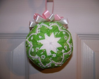 Easter/Spring Quilted Ornament