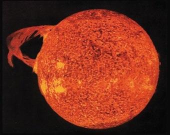 Photograph -Solar Flare 1973 -Skylab =  Photo Print .