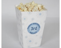 Set of 6 Ditzy Daisy Wee Popcorn Boxes