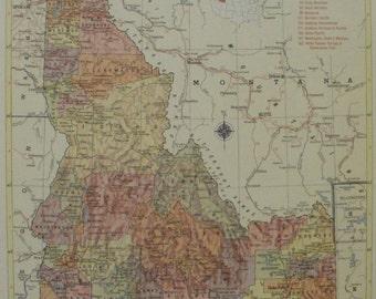 Idaho falls map art Etsy