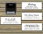 Custom Address Stamp - Self-Inking Address Stamp - 5 Ink Color Choices