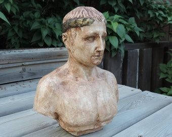 Upcycled Bust of Gaius Julius Ceasar