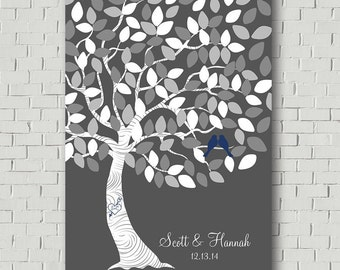 Wedding Guest Book Alternative Guest Book Tree Wedding Tree - Wedding Gift for Bride Guestbook Ideas - Wedding Signs Keepsake Wedding Canvas