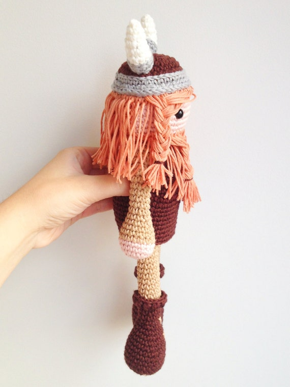 Amigurumi Viking Pattern : Viking Amigurumi Pattern, Viking Crochet Pattern, Crochet ...