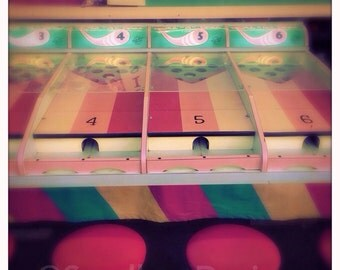 4 x 4 photo card-Pastel playtime