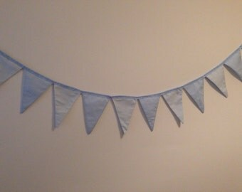 Bunting for baby boy