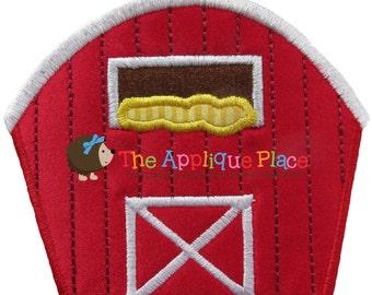 Red Barn Machine Embroidery Applique Design