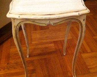 Small French style side table
