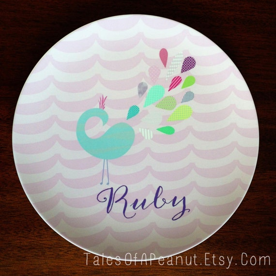 "10"" Melamine Plate - Personalized Design"