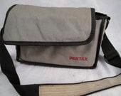 Vintage Pentax Camera Bag 70s 80s  Padded RUGGED